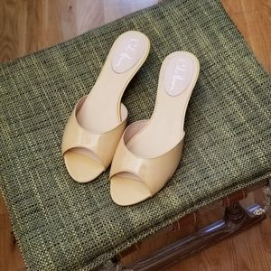 PCole Haan, Patent Nude Mules